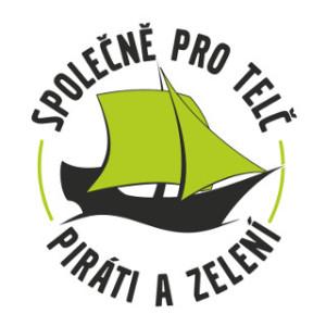 logo spolecne pro telc pirati a zeleni
